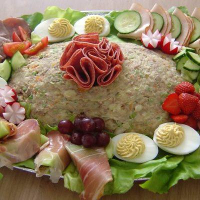 Salade – Rundvlees – 10 Personen